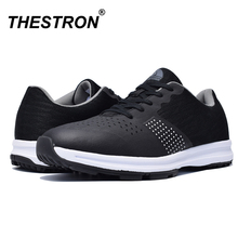 2019 New Waterproof Men Golf Shoes Big Size 39-46 Outdoor Training Sneakers Men Mesh Breathable Black Gray Golf Sport Shoes Man недорого