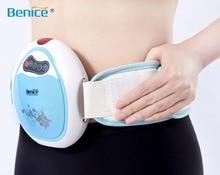Electric fat belt vibration massager body fitness massaging system 110-240V