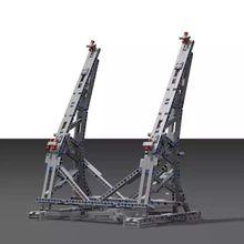 MOC вертикальный дисплей стенд для Сокол Тысячелетия № 05132 и № 75192 Ultimate Коллекционная модель подарки на день рождения Конструкторы кирпичи