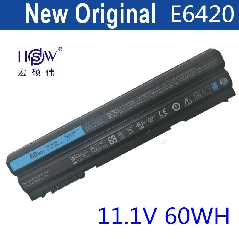 HSW Battery For Dell Latitude E5420 E5420m E5520 E5530 E6430 E6520 E5430 E5520m E6420 E6530 E6440 For Inspiron 14R 15R цены онлайн