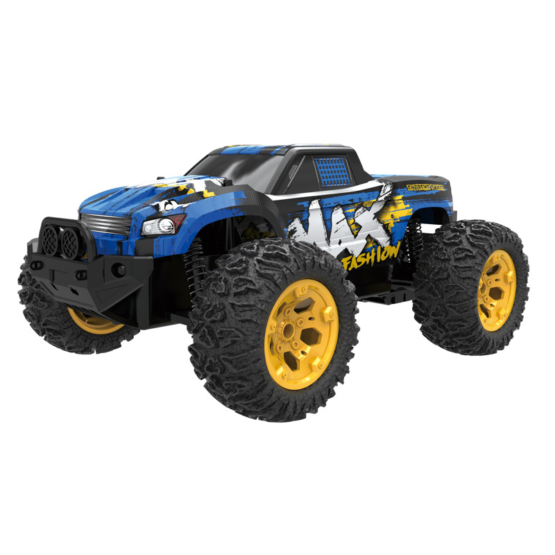 RC Cars 2.4G 4WD Bigfoot Monster 1:12 Truck High Speed Drift Racing Off-Road Vehicle Remote Control Car Model Hobby Toy wltoys 12402 rc cars 1 12 4wd remote control drift off road rar high speed bigfoot car short truck radio control racing cars