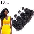 Бразильский Девственные Волосы Курчавые Вьющиеся 7А Человеческие Волосы Ткать Пучки 4 шт. Странный Вьющиеся Необработанные Человеческих Волос Aliexpress Великобритании