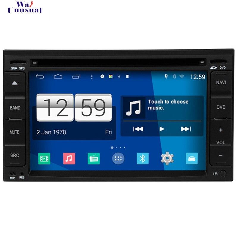 WANUSUAL Promoção Car Styling 800*480 Quad Core 16G 6.2 ''Android 4.4.4 DVD Player Do Carro para Nissan Velho Universal de Navegação GPS