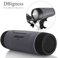 Bluetooth Speaker Zealot S1 Portable Outdoor Indoor LED Flashlight Powerful Bass With 4000mAh Emergency Powerbank And