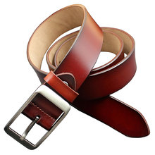 2017 NEW designer 100% Cowhide Genuine Leather Belt for Men Male Jeans High Quality Casual Pants W71152