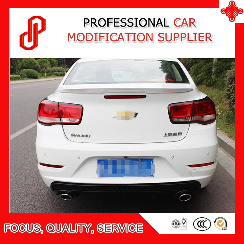Hot sale ABS primer black white red ect color car rear trunk lip spoiler for Malibu 2012-2018Hot sale ABS primer black white red ect color car rear trunk lip spoiler for Malibu 2012-2018