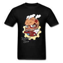Dragon Ball Z Goku Titan T-Shirts Funny Cartoon Anime ACDC Attack On Men Tshirts Zombie Monster Unicorn T Shirt New