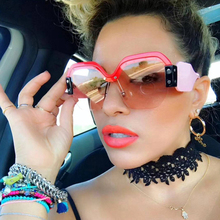 JackJad Fashion Women Sorbet SMU09S Style Semi Rimless Cool