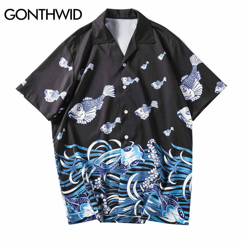 68cd8083e255f Detail Feedback Questions about GONTHWID Sea Wave Printed Beach ...