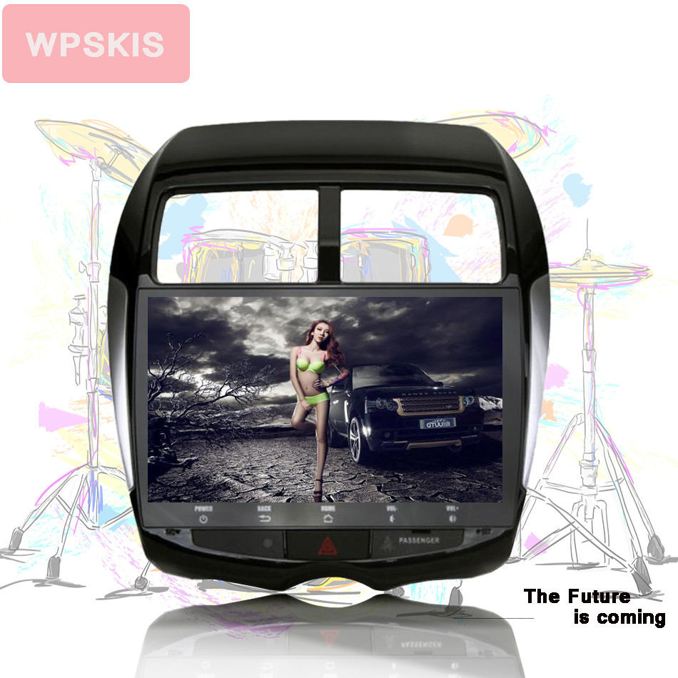 10 2 Android 8 1 Car GPS Player Navi for Mitsubishi ASX 2010 2011 2012 with