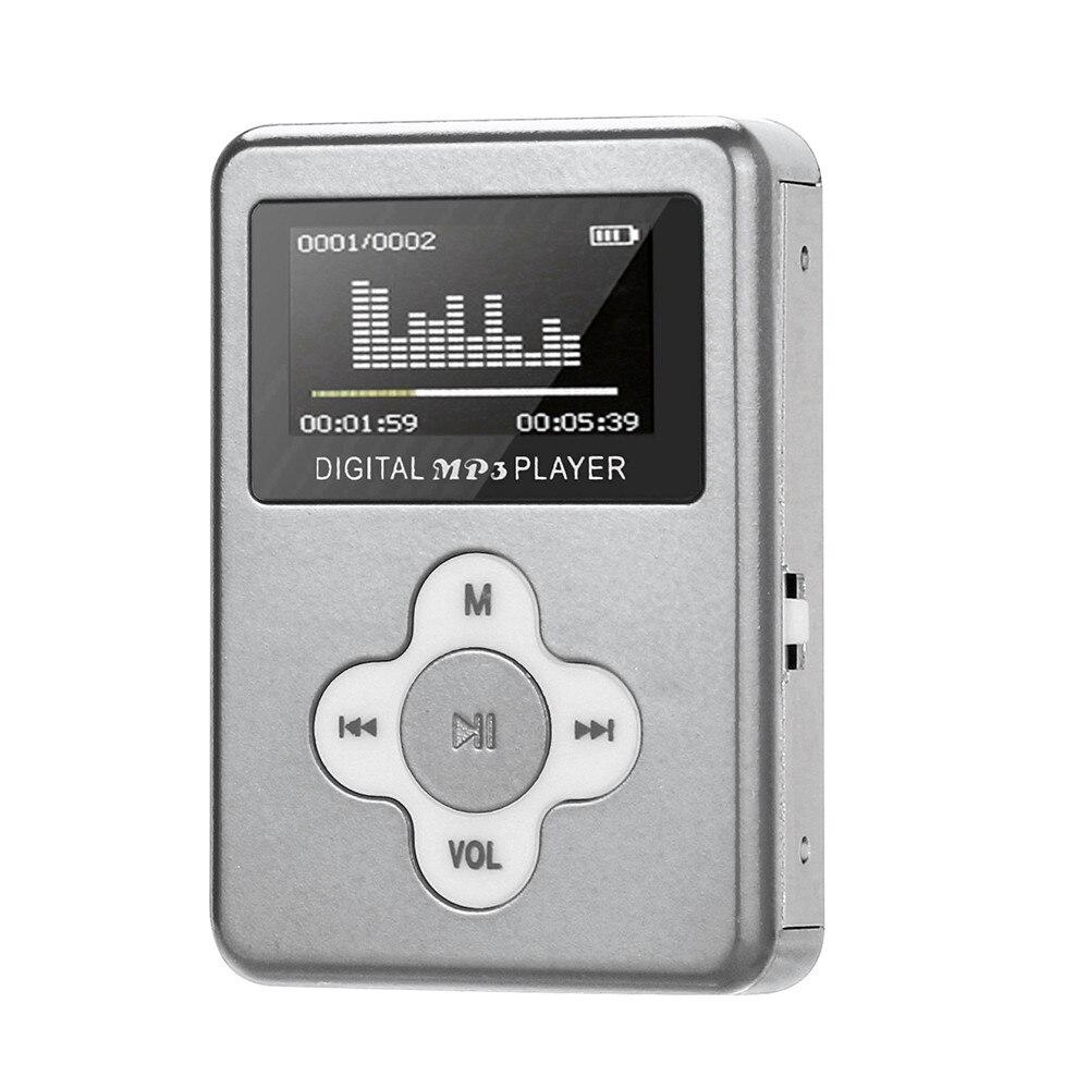 2019 USB Mini MP3 Player LCD Screen Support 32GB Micro SD TF Card SL
