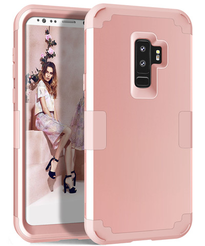 Heavy Duty Hybrid Case For Samsung Galaxy S9 S9Plus Shockproof Armor Rugged Case Cover Hard PC + Soft Rubber Silicone Phone Case (26)