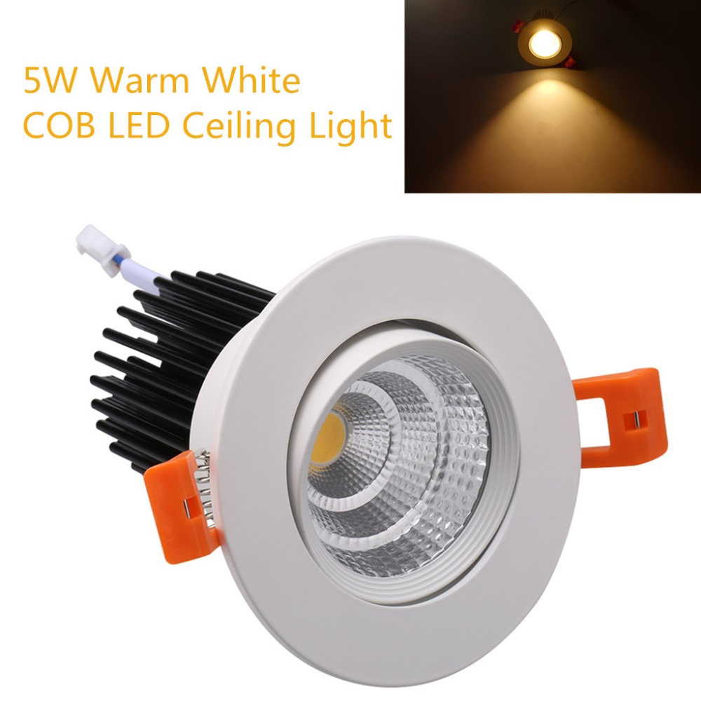 4x 5W Warm White COB font b LED b font Wall Spot font b Light b