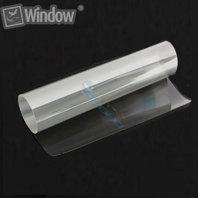 1.52x10m  4mil Glass Safety Film Glass Protection Sheet Security Window Self Adhesive Vinyl