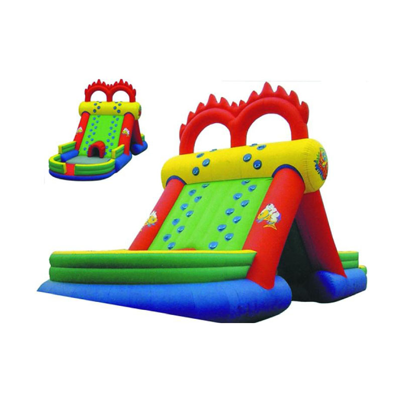 Inflatable Water Slide With Price: Factory Price Inflatable Slide With Pool/PVC Commercial