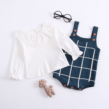 Sodawn 2018 Autumn Winter New Products Knitted Cartoon Jacquard Conjoined Baby Out Suit Sleeveless Cardigan Baby Jumpsuit 1