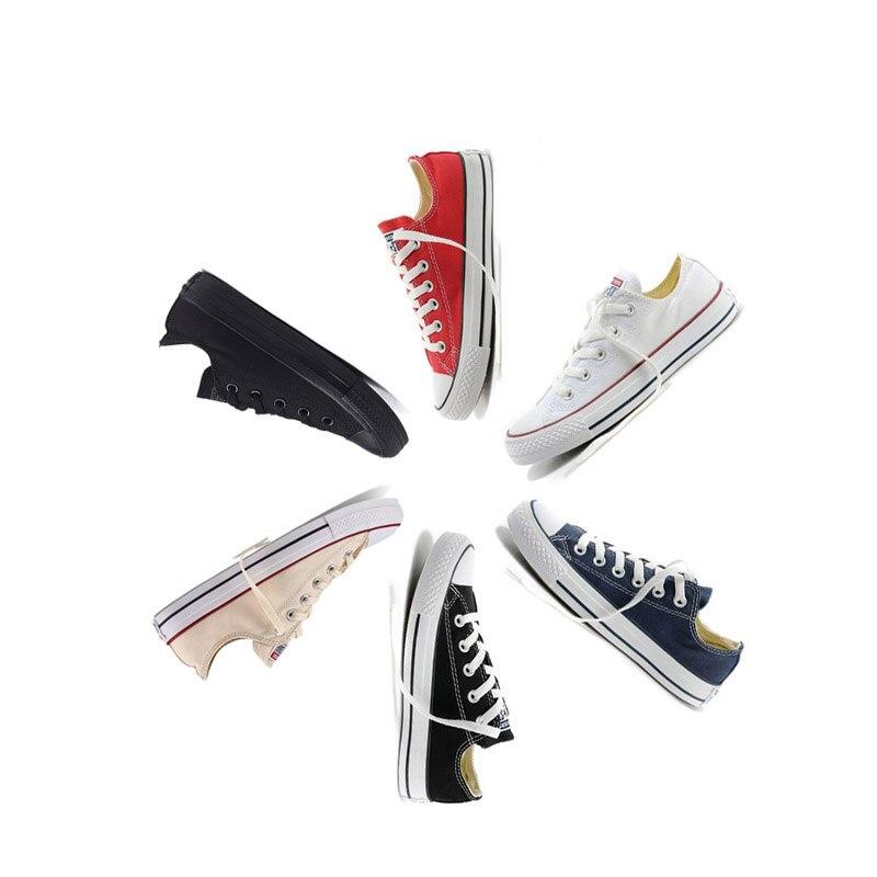 Converse hommes et femmes chaussures de skateboard en plein air décontracté classique toile unisexe Anti-glissant baskets bas Top sport Designer - 5