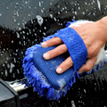 Car Washing Sponge Gloves Super Aasorption Water Superfine Fiber Auto Cleaning Sponge Tool Wash Clean Window Body Care Brushes