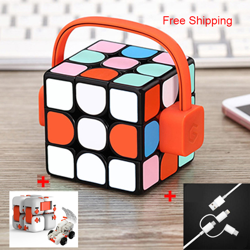 Update Version Xiaomi Mijia Giiker i3s/i3Y AI Intelligent Super Cube Smart Magic Magnetic Bluetooth APP Sync Puzzle Toys CubeUpdate Version Xiaomi Mijia Giiker i3s/i3Y AI Intelligent Super Cube Smart Magic Magnetic Bluetooth APP Sync Puzzle Toys Cube