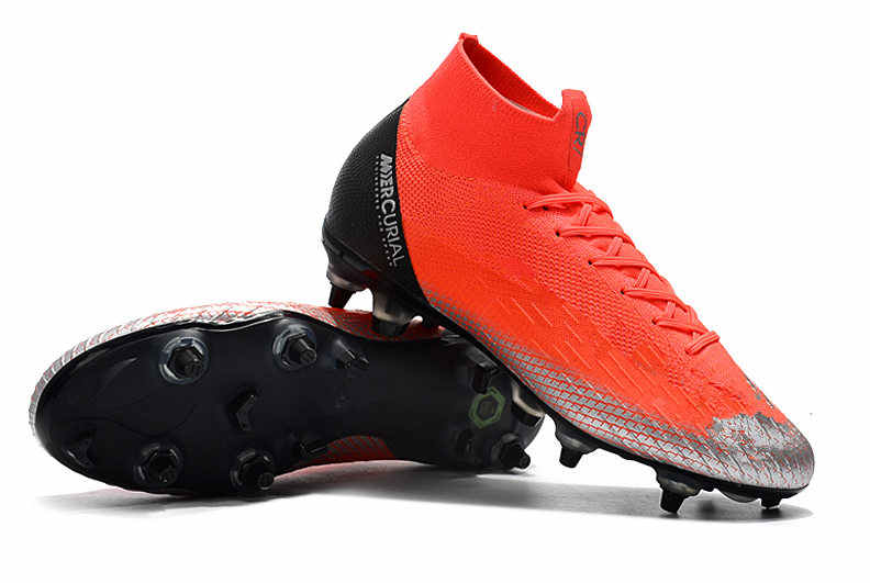 a1419c106 ... Release ZUSA Superfly VI Elite SG ACC Football Boots Mens Soft Ground Soccer  Shoes Cleats with ...