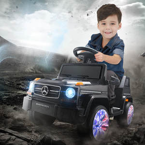 FD Ride on with Baby Remote Control Electric Car Toys Boys