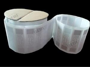 Image 1 - 100pcs UHF Stickers label AZ 9662 860 960MHz UHF RFID Adhesive Tag ISO 18000 6C Alien H3 Chip Inlay 73*23mm