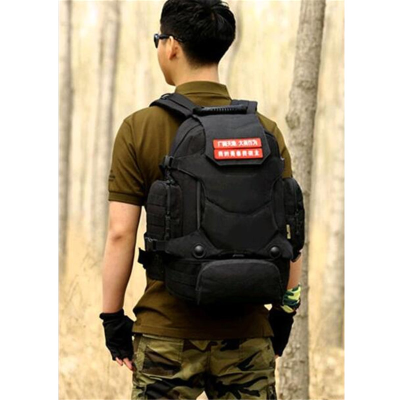 tactics Fan of military camouflage backpack backpack 40 litres multifunctional of three backpack with combined полоски для депиляции cosmia 42 шт