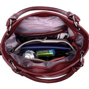 Image 4 - Moda 2018, Bolsos De Mujer con borla, bolso de hombro de diseñador, bolsos de piel sintética de alta calidad, bolso de mano con cadena para mujer, bolso de mano
