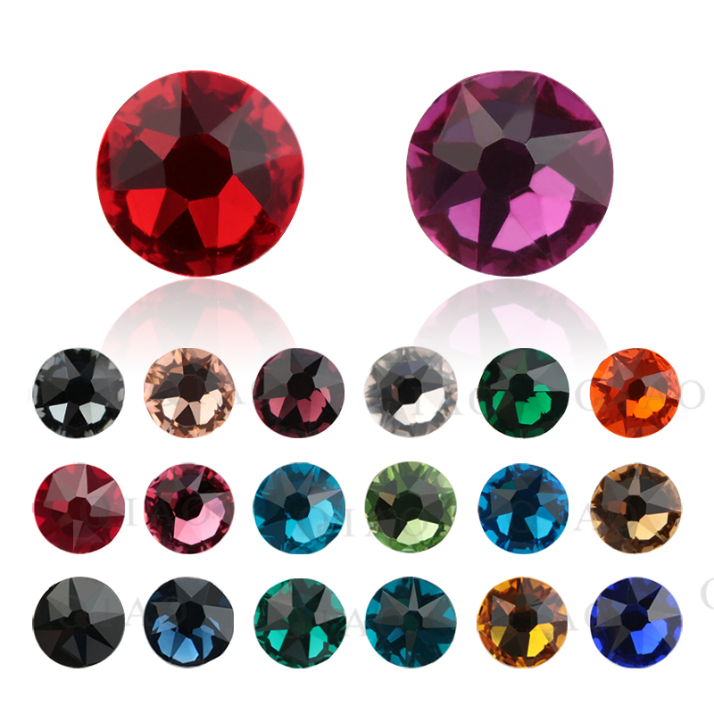 Detail Feedback Questions about QIAO SS20 (8 big + 8 small) New Faceted Cut  Facets Hot Back Top Quality Iron On Hotfix Garment Style Rhinestone 5e792e9439a5