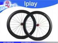 Promotion 25mm width 700C road wheel 60mm clincher carbon road wheels UD matte Carbon Racing Wheelset FASTace with RA209 hubs