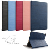 For New IPad 9 7 Inch 2017 IPad Air 1 2 ZVRUA Simplicity PU Leather Smart