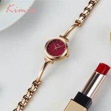 hot deal buy kimio shine dial rose gold women watches bracelet watch ladies watches top brand luxury alloy women's watch quartz wristwatch