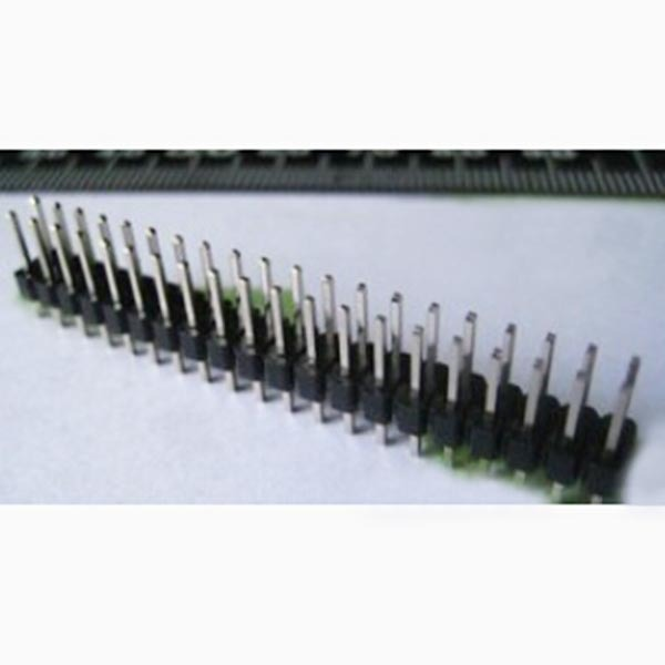 50pcs Double row needle copper 2*20 2.54mm pitch straight