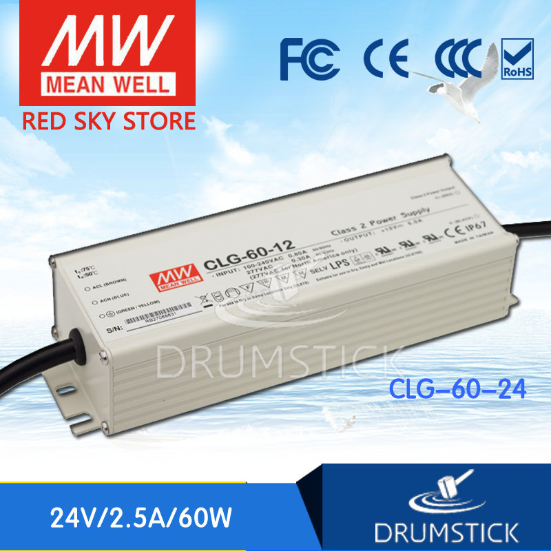 цена на Selling Hot MEAN WELL CLG-60-24 24V 2.5A meanwell CLG-60 24V 60W Single Output LED Power Supply