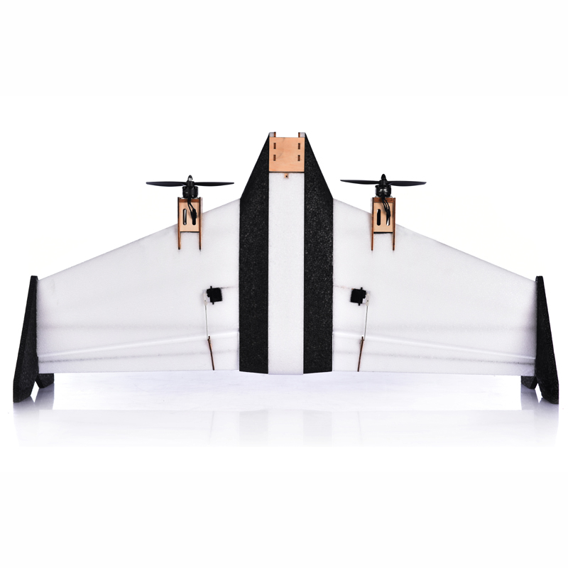 Arkbird Vertical Take-off and Landing (VTOL) RC Flying Wing FPV Airplane Kit fpv x uav talon uav 1720mm fpv plane gray white version flying glider epo modle rc model airplane