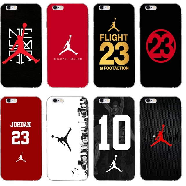 release date c2e01 07127 US $1.99 |fashion Michael Jordan 23 logo slim Soft phone case For iPhone 4  4s 5 5s 5c SE 6 6s plus 7 7plus 8 8plus X-in Half-wrapped Case from ...