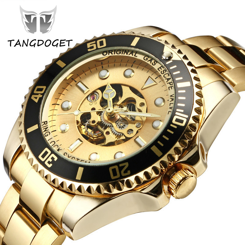 Watches Men Automatic Mechanical Watch Business Watches Top Brand Luxury Stainless steel Waterproof WristWatch relogio masculino business men classic luxury watch automatic mechanical watches mens hours ruimas top brand male steel clocks relogio masculino