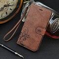Funda de piel para iphone 6 cornmi caso cubierta de lujo de la contraportada para iphone6 iphone 6 s shell bolsos del teléfono monedero casos ranuras para tarjetas