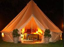 4M/5M/6M Gl&ing bell tent cotton tipi & Buy glamping tents and get free shipping on AliExpress.com