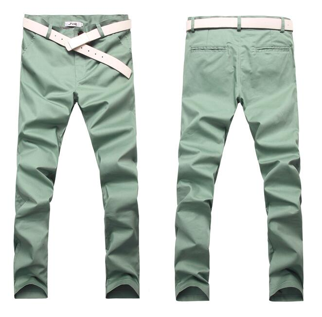 Free Shipping 2019 Plus Size Spring Summer New Casual Pants Men Cotton Slim Fit Chinos Fashion Trousers Male Brand Clothing