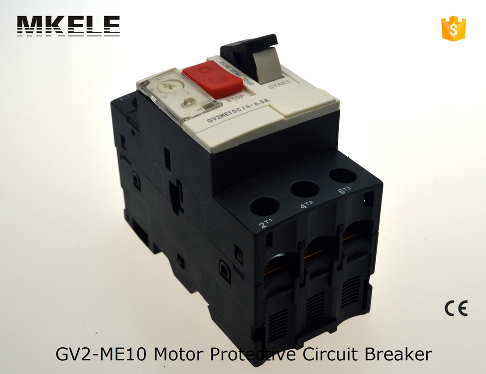 GV2-ME10 4-6.3A gv2 me motor protector circuit breaker motor starter circuit breaker burgundy one shoulder frill layered design jumpsuit