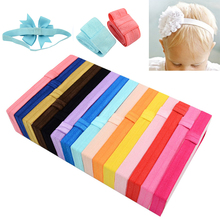LNRRABC Fashion Kids Headband Newborn Hair Accessories Candy Color Elastic Rubber Band Cute Baby Headscarf