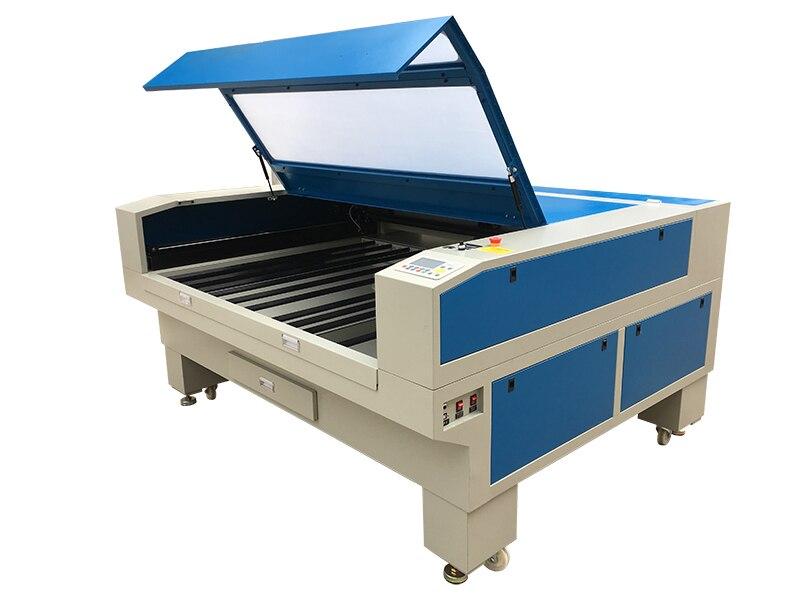 Machine de gravure et de découpe Laser Co2 Double tête 1610 avec contrôleur AWC708C, Textile de découpe Laser 100 w 130 w EFR