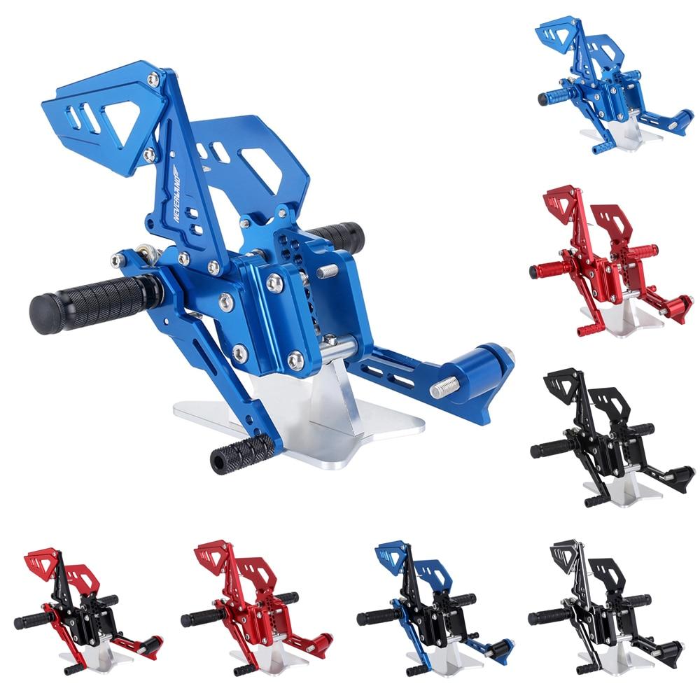 CNC Adjustable Rearsets Foot Rear Rest Footrests For SUZUKI GSX-R 600 750 2006 2007 2008 2009 2010 D25CNC Adjustable Rearsets Foot Rear Rest Footrests For SUZUKI GSX-R 600 750 2006 2007 2008 2009 2010 D25