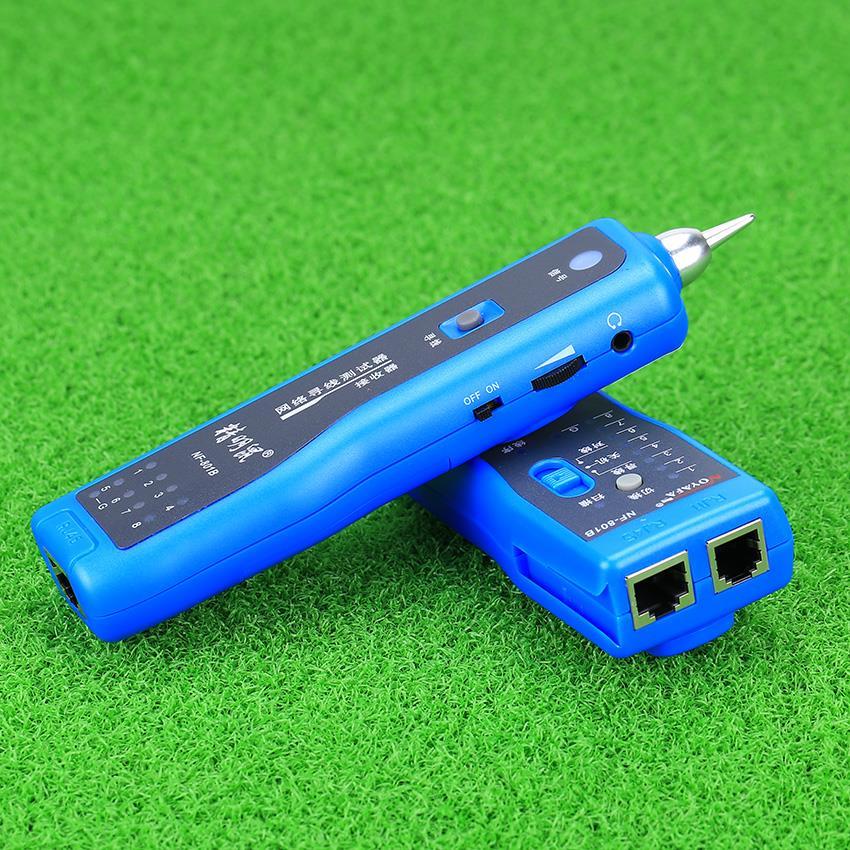 KELUSHI 2018 réseau RJ11 RJ45 lan fil tracker localisateur de défaut et testeur de câble LAN testeur de câble NF-801B - 4