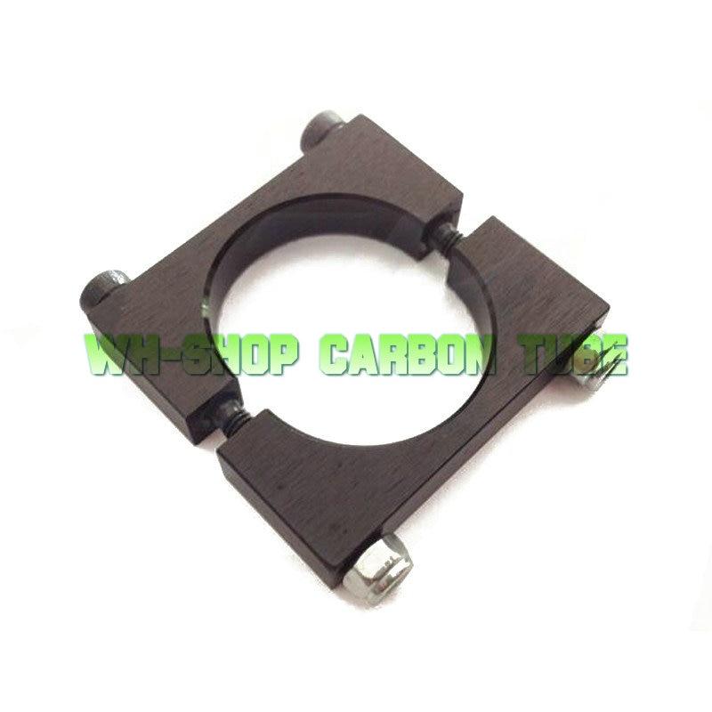 2-10pcs Diameter 20mm 22mm 25mm 30mm 35mm 40mm Aluminum Clamp Clip for Carbon Fiber Tube RC Multirotor ct4 22mm energy monitoring sensor clamp