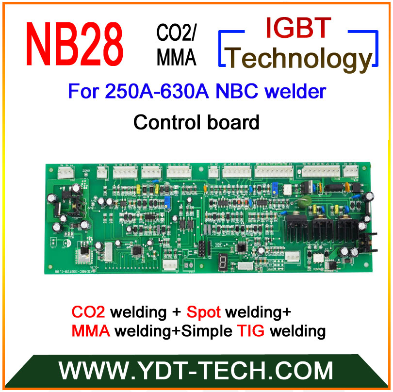NB28 welding card  for 250A-630A  co2/mig welding machine only for aluminium wire 76zy 04 mig wire feeder motor feeding machine dc24 1 0 1 2mm 2 0 21m min 1pk mig mag welding machine