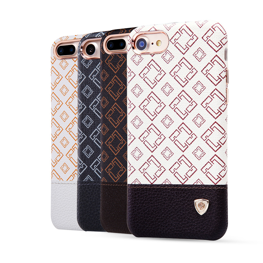 Nillkin Oger Anti knock Leather pattern phone case shock proof protective shell hard Back case cover