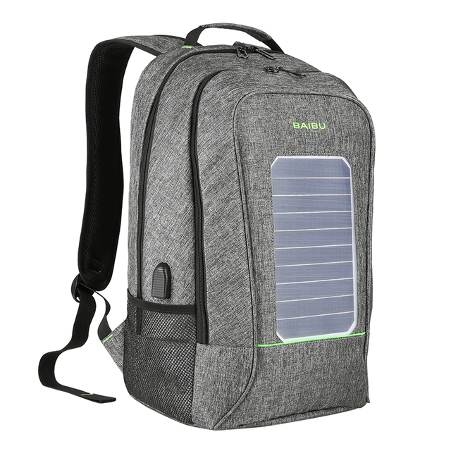Solar Backpack USB Charger