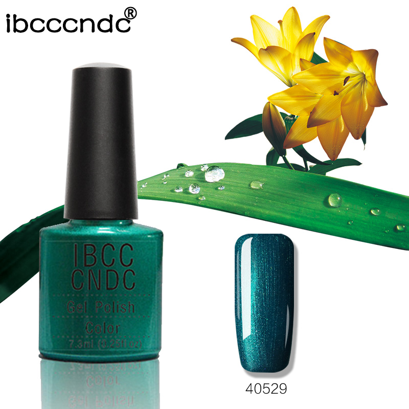 Nouveau IBCCCNDC Gel Vernis À Ongles Salon Vernis À Ongles Soak Off De Lampe UV Durcissement Gel Laque Nail Art Design 79 Couleurs 40529